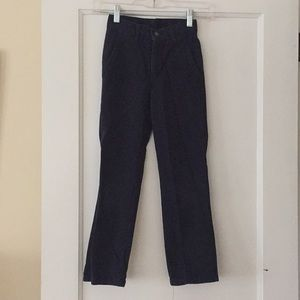 IZOD slim fit boys navy blue chino